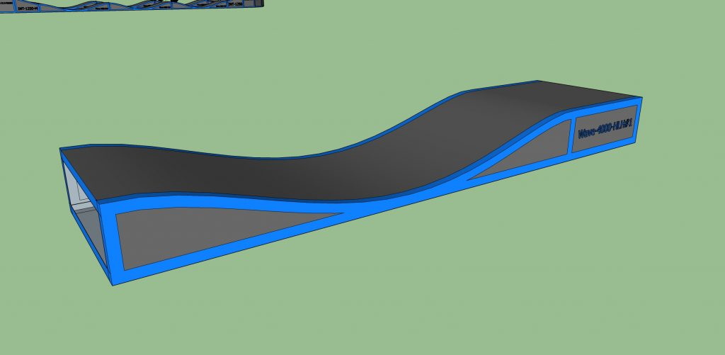 PumpTrack Module Wave-4000-HLH-#1