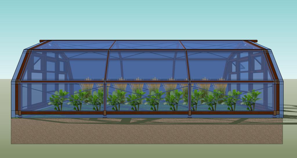Modulares Gewächshaus